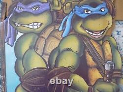 TMNT Theater Display Teenage Mutant Ninja Turtles 1990 1st Movie Standee ST-77
