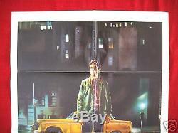 Taxi Driver 1976 Original Movie Poster One Sheet Robert Deniro Martin Scorsese