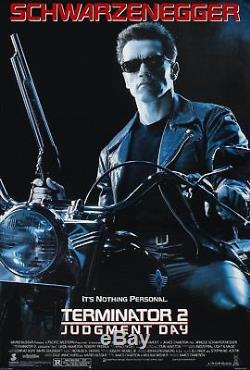 Terminator 2 II Original Rolled Regular Style Movie Poster Schwarzenegger 1991