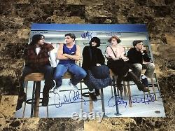 The Breakfast Club Rare Cast Signed Autographed 16x20 Movie Photo Poster COA