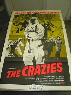 The Crazies / Original U. S. One-sheet Movie Poster (george A. Romero)