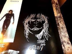 The Crow Rare Signed Original 1-Sheet Movie Poster James O'Barr Sketch Photo COA
