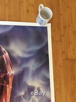 The Dark Crystal Original 1982 Advance Movie Poster NM Netflix Resistance Henson