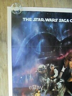 The Empire Strikes Back (1980) Original Movie Poster Style A Tri-folded