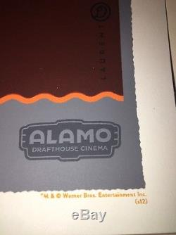 The Iron Giant Durieux Alamo Drafthouse Mondo Movie Poster Limited Art Print