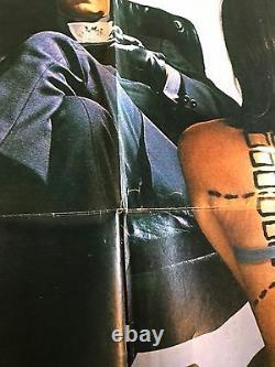 The Italian Job 1969 Original 1 Sheet Movie Poster 27 x 41 Michael Caine (VG+)