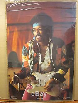The Jimi Hendrix Experince Rock N Roll vintage Poster original 1977 11631