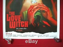 The Love Witch 2016 Original Movie Poster Rare Sexy Samantha Robinson Halloween