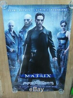 The Matrix (1999) Original Movie Poster Rolled Double-sided