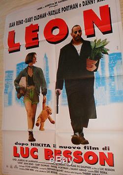 The Professional (leon) Original Movie Poster, 55x39, Nm