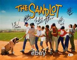 The Sandlot Cast Signed Horizontal Movie Poster 11x14 Photo