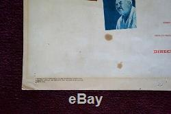 The Searchers Original Movie Poster Insert 1956 John Wayne Western Vintage