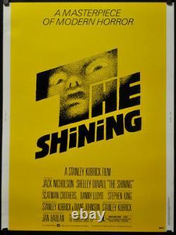 The Shining 1980 Original 30x40 Movie Poster Jack Nicholson Stanley Kubrick