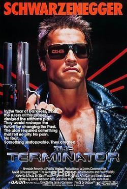 The Terminator (1984) Original Movie Poster Rolled