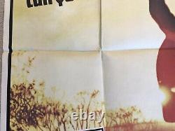 The Texas Chainsaw Massacre 1974 Original Quad Film Poster X (Local) Very Rare