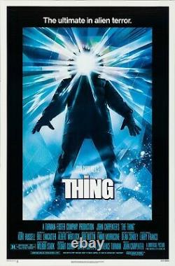 The Thing (1982) Movie Poster, Original, SS, Unused, NM, Rolled