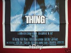 The Thing 1982 Original Movie Poster 1sh Rare Nss Version Halloween The Fog Nm
