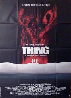 The Thing Carpenter / Russell Original Large French Movie Poster