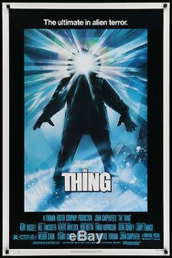 The Thing (Universal, 1982) Original Movie Poster 27 x 41 Near Mint