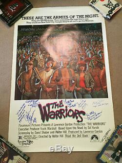 The Warriors 1979 Rolled Orig 1-sheet Poster Signed By Cast James Remar