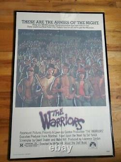 The Warriors Original Movie Poster 27 X 41 Walter Hill 1979 Street Gang Movie