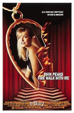 Twin Peaks Fire Walk With Me (1992) Original Movie Poster Rolled