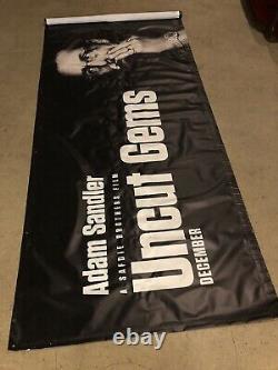 Uncut Gems Vinyl Theater Lobby Banner
