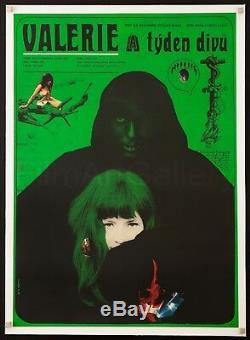 VALERIE & HER WEEK OF WONDERS 23x32 Czech poster Jaromil Jires
