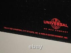 VERY RARE Original Jurassic Park Advance PROMO Banner 1993