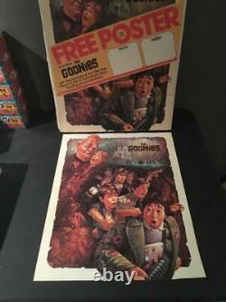 Vintage 1985 The Goonies 17.5x22 Double Sided Promo Movie Poster 1 Sheet