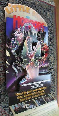Vintage Original Little Shop of Horrors Video Store Standee 1986 Great Condition