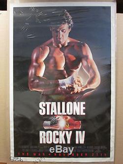 Vintage Rocky IV original Sylvester Stallone movie poster 9943