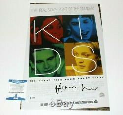 Writer Harmony Korine Signed'kids' Movie Poster Beckett Coa Gummo Director 1995